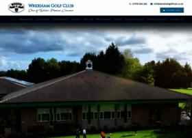 wrexhamgolfclub.co.uk
