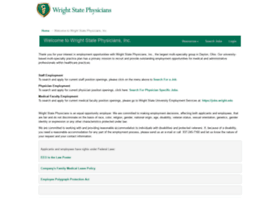 wrightstatephysiciansstaff.hirecentric.com