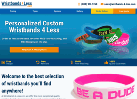 wristbands-4-less.com