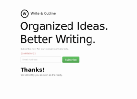 writeandoutline.com