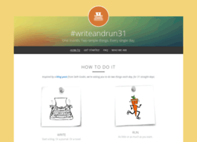 writeandrun31.strikingly.com