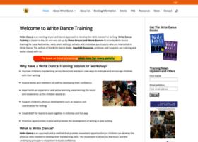 writedancetraining.com