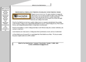 writefieldservices.com