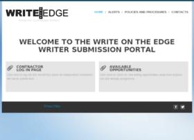 writefordeb.writeontheedge.com