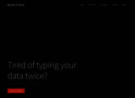 writeitonce.com