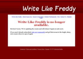 writelikefreddy.com