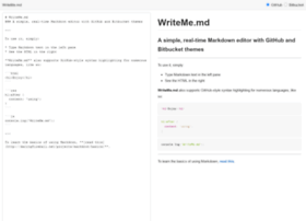 writeme.mattstow.com