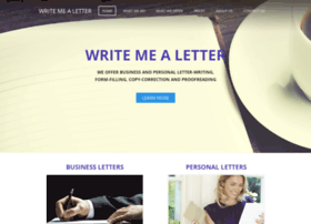 writemealetter.co.uk