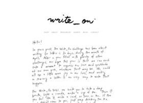 writeoncampaign.com