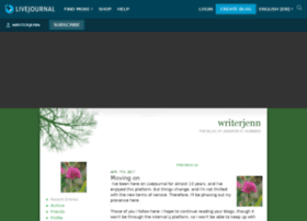 writerjenn.livejournal.com