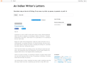 writerletters.blogspot.in