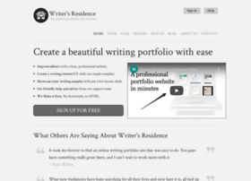 writersresidence.com