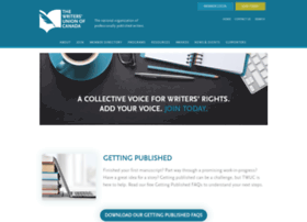 writersunion.ca