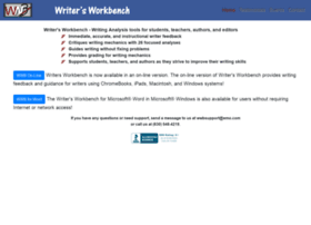 writersworkbench.com