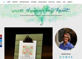 writethemonmyheart.com