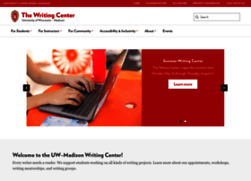 writing.wisc.edu