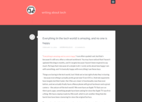 writingabouttech.com