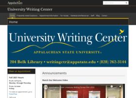 writingcenter.appstate.edu