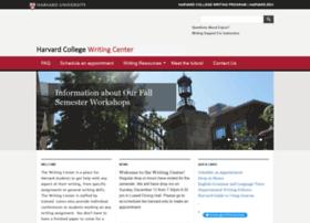 writingcenter.fas.harvard.edu