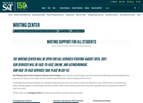 writingcenter.mst.edu