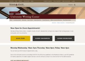 writingcenter.txstate.edu