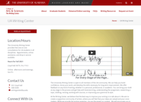 writingcenter.ua.edu