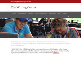 writingcenter.wustl.edu