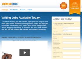 writingjobconnect.com