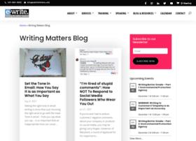 writingmatters.typepad.com