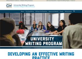 writingprogram.gwu.edu