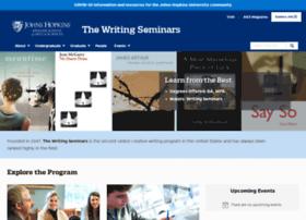 writingseminars.jhu.edu