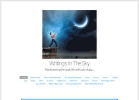 writingsinthesky.com
