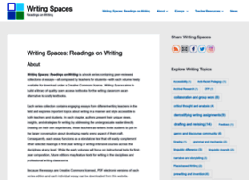 writingspaces.org