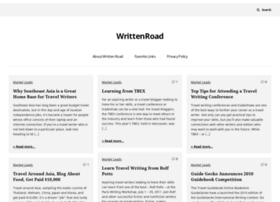 writtenroad.com