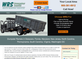 wrsdumpsterrental.com