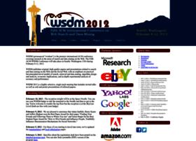 wsdm2012.org