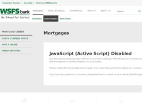 wsfsbank.mortgagewebcenter.com