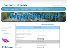 wspolnedojazdy.pl