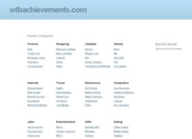 wtbachievements.com
