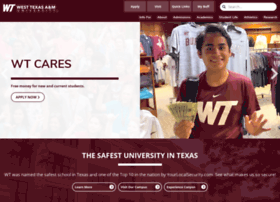 wtfaculty.wtamu.edu