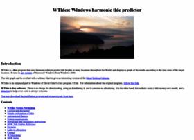 wtides.com