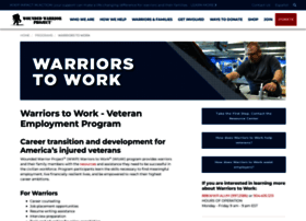 Wtow.woundedwarriorproject.org