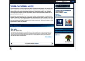 wujekcalcaterra.tributes.com