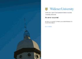 Wumail.widener.edu