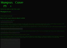 wumpus-cave.net