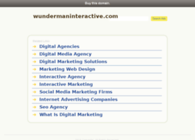 wundermaninteractive.com