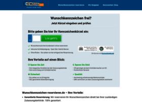 wunschkennzeichen-reservieren.de