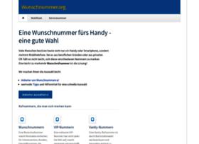 wunschnummer.org