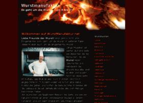 wurstmanufaktur.net
