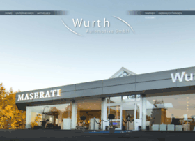 wurth-automotive.com